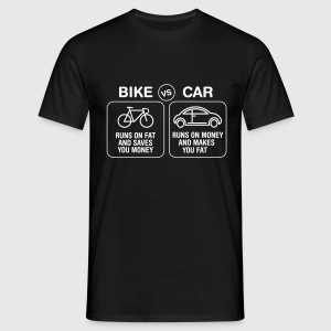Bike VS Car T-Shirts - Men's T-Shirt