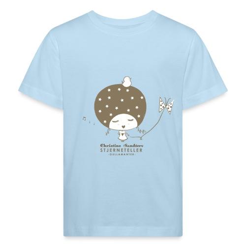 STJERNETELLER-GULLAMANTER - Økologisk T-skjorte for barn