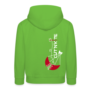 CuT 'n' KiTe - LESS WORK MORE KITE - Felpa con cappuccio Premium per bambini
