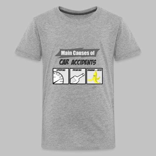 T-shirt ado (teenager) Car accidents - Teenage Premium T-Shirt