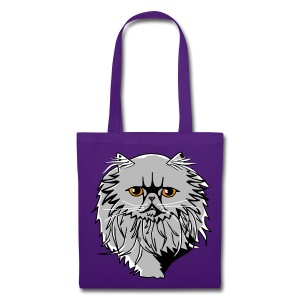 Sac shopping - chat persan - Tote Bag