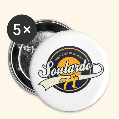 soulardo - Lot de 5 grands badges (56 mm)