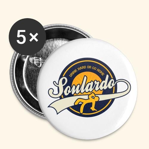 soulardo - Lot de 5 moyens badges (32 mm)