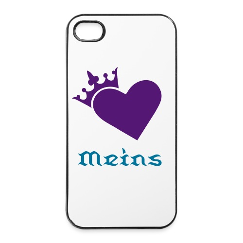 Lady King Meins - iPhone 4/4s Hard Case