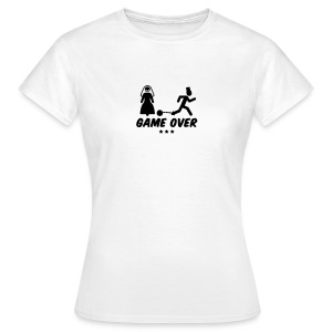 Game over (w) - Women's T-Shirt