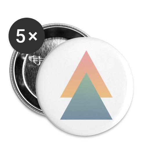 Dreicke_Button - Buttons groß 56 mm