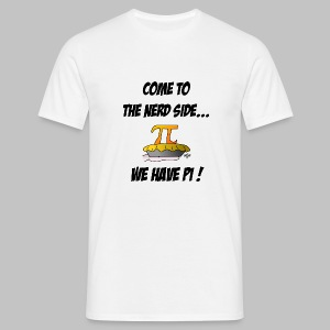 T-shirt homme (man) Come to the nerd side - Men's T-Shirt