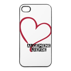 Iphone 4/4S AlgemeneLiefde Hoesje - iPhone 4/4s hard case