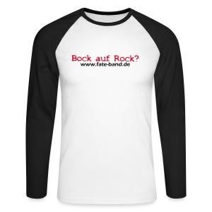f.a.t.e. Männer Baseball Shirt - Männer Baseballshirt langarm