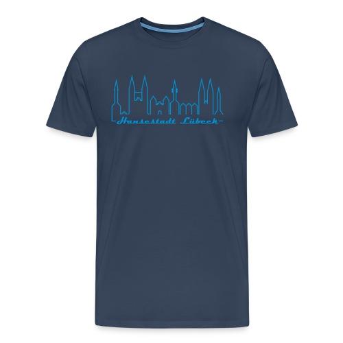 T-Shirt Männer Hansestadt - Männer Premium T-Shirt