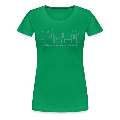 Damen T-Shirt - Unistadt Lübeck - Frauen Premium T-Shirt