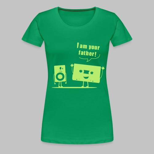 t-shirt femme (woman) I am your father - Women's Premium T-Shirt