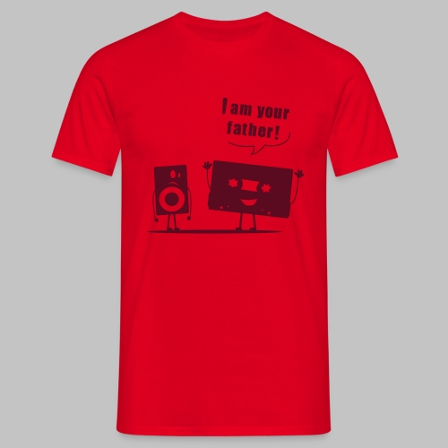 t-shirt Homme (man) I am your father - Men's T-Shirt