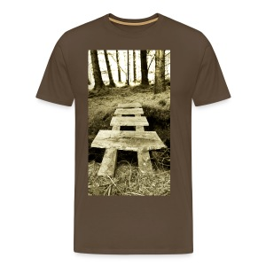 The Crossing - Men's - Men's Premium T-Shirt