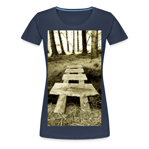 The Crossing - Women's - Women's Premium T-Shirt