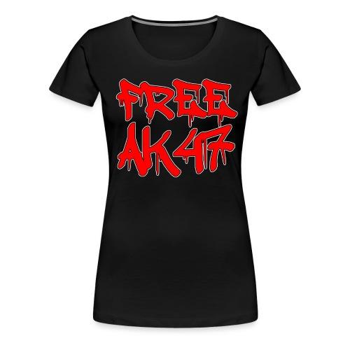 Free AK47 Women's T-Shirt - Women's Premium T-Shirt