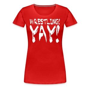 Ringbelles Yay! Women's T-shirt - Women's Premium T-Shirt
