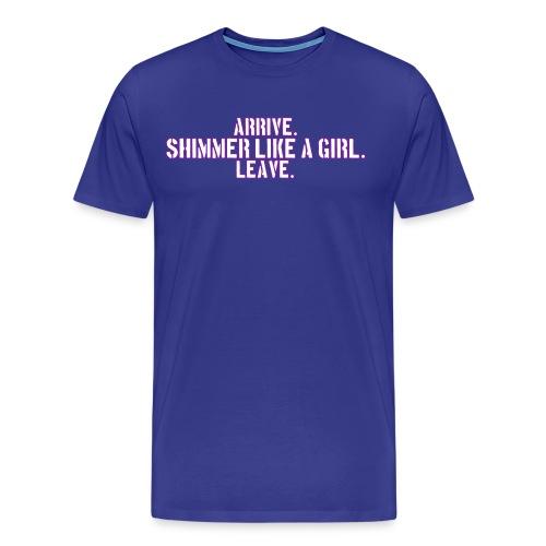 Ringbelles Shimmer Men's T-shirt - Men's Premium T-Shirt