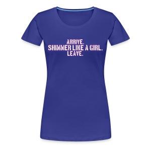 Ringbelles Shimmer Women's T-shirt - Women's Premium T-Shirt