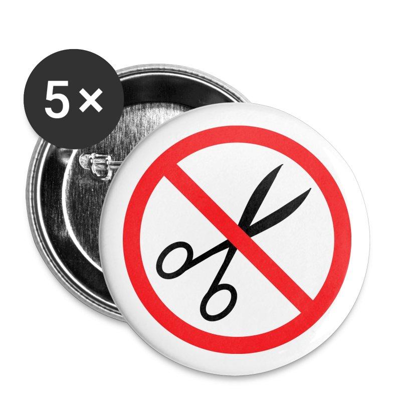 No cuts badges - Buttons medium 32 mm
