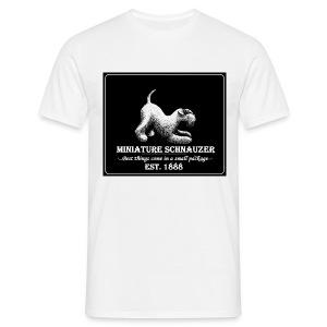 peruspaita miehille Vintage käppänä nega  - Miesten t-paita