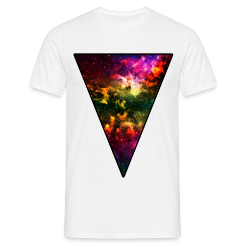 Cosmic Triangle 2 T-shirt - Men's T-Shirt