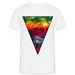 Cosmic Triangle 1 T-shirt - Men's T-Shirt