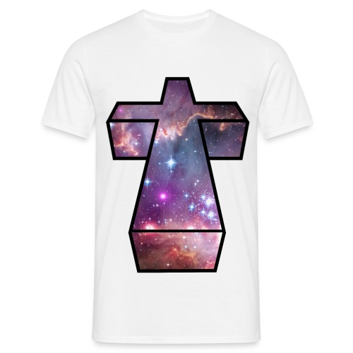 Cosmic Cross T-shirt - Men's T-Shirt