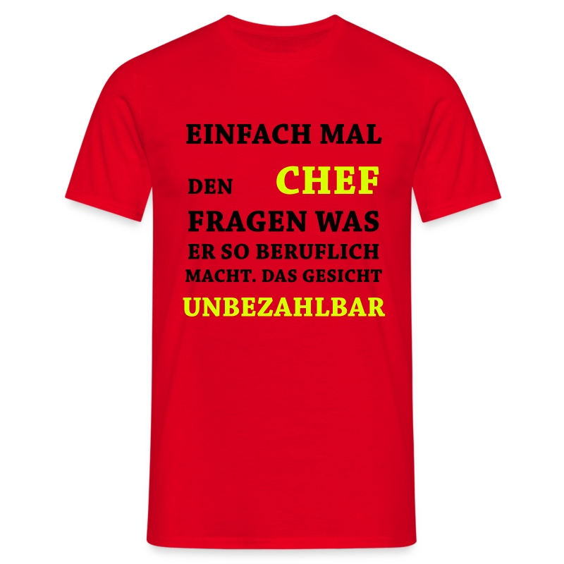 unbezahlbar chef t shirts a25756258 besides sluttiest t shirts. Black Bedroom Furniture Sets. Home Design Ideas