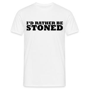 I'd Rather Be T-shirt - Men's T-Shirt
