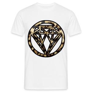 Leopard Diamond T-shirt - Men's T-Shirt