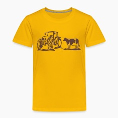 cow and tractor Shirts