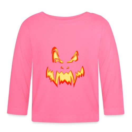 Halloween pumpkin - T-shirt manches longues Bébé