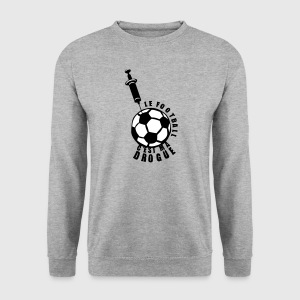 football drogue seringue foot piqure Sweat-shirts - Sweat-shirt Homme