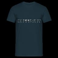 T-Shirts ~ Männer T-Shirt ~ Kollision Logo T-Shirt Male Navy