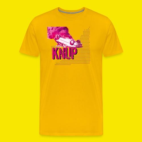 Sterne Flammen Auto KNUP, mehr geht nicht - PunkER - Männer Premium T-Shirt