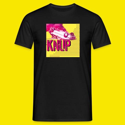 Logo leuchtet das - KnupER - Männer T-Shirt