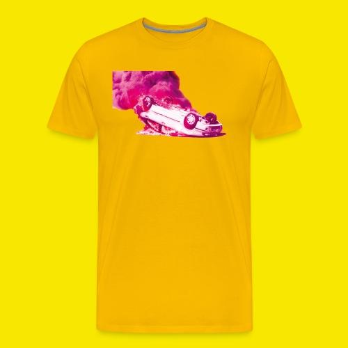 Feuer und Flamme - KnupER - Männer Premium T-Shirt