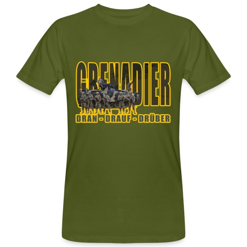 Dran Drauf Drüber - Männer Bio-T-Shirt