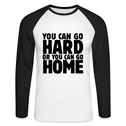 A20 - T-shirt baseball manches longues Homme