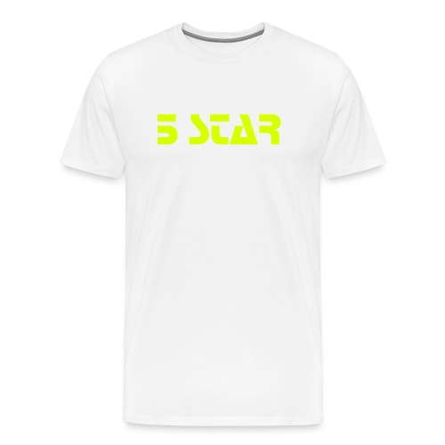 5 star yellow edition - Premium-T-shirt herr