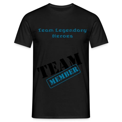 t-shirt homme team Legendary Heroes - T-shirt Homme