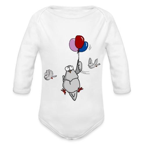 Lass Dich treiben auf BabyBody - Baby Bio-Langarm-Body