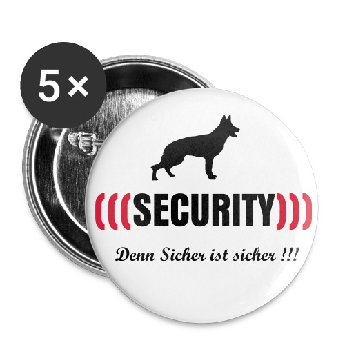 Security Button I - Buttons klein 25 mm