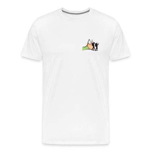 Hikaholics shirt - full color - Mannen Premium T-shirt