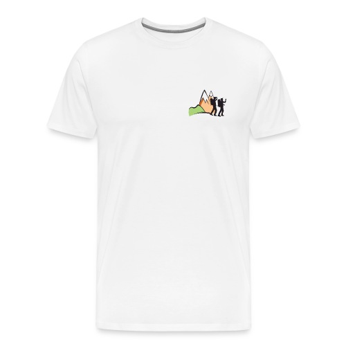 Hikaholics shirt - full color - Mannen Premium T-shirt