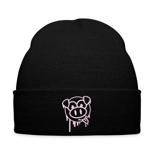 Pink Pig Beanie - Winter Hat