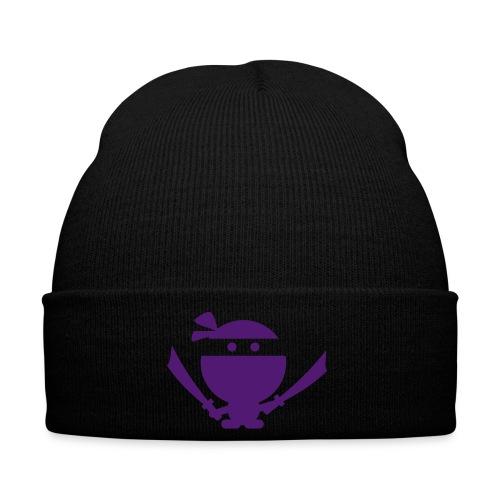 Purple Ninja Beanie - Winter Hat