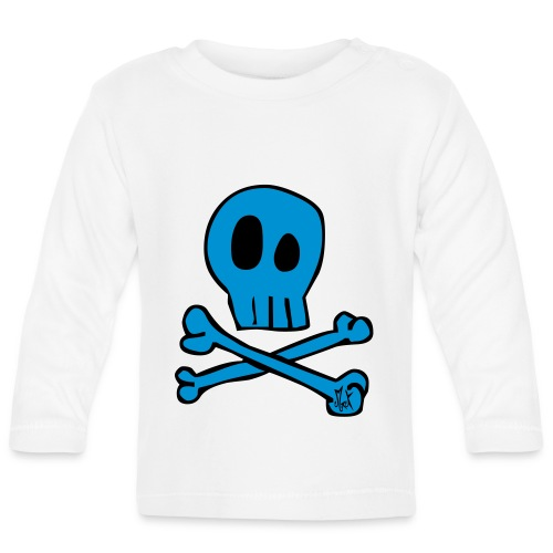 Little Skull McKoy  - Camiseta manga larga bebé