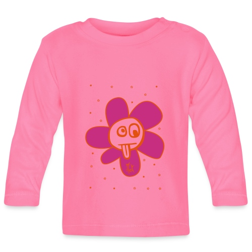 Little Flower McKoy - Camiseta manga larga bebé